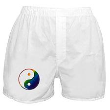 Gay Yin and Yang Boxer Shorts