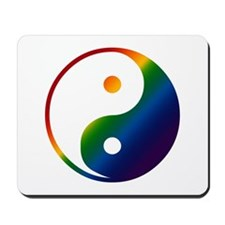 Gay Yin and Yang Mousepad