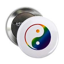 Gay Yin and Yang Button