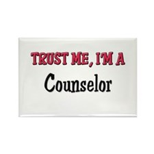 Trust Me I'm a Counselor Rectangle Magnet