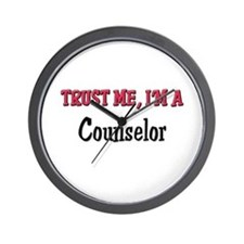 Trust Me I'm a Counselor Wall Clock