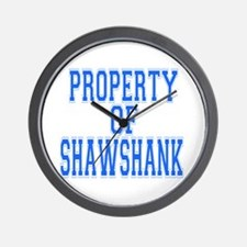 Property of Shawshank Wall Clock