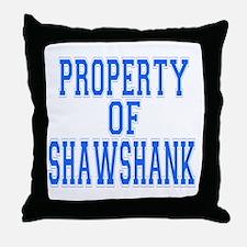 Property of Shawshank Throw Pillow