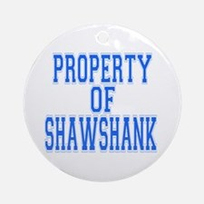 Property of Shawshank Ornament (Round)