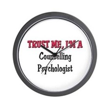 Trust Me I'm a Counselling Psychologist Wall Clock