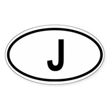 Japan Oval Decal