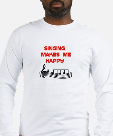 HAPPY SINGER Long Sleeve T-Shirt