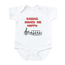 HAPPY SINGER Infant Bodysuit