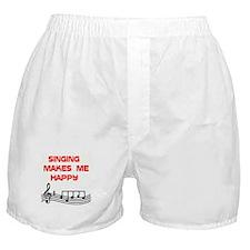 HAPPY SINGER Boxer Shorts