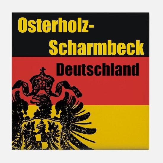 Osterholz-Scharmbeck  Tile Coaster