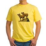 Bighorn Sheep Yellow T-Shirt