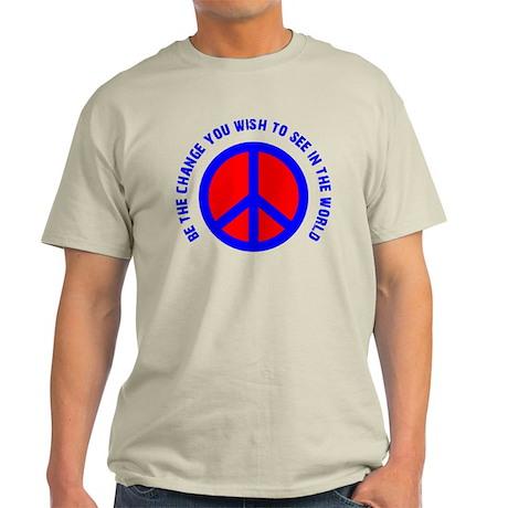 Be The Change! Light T-Shirt