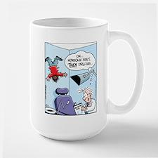 Novocain Drilling Instructions Large Mug