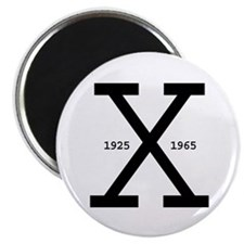 "Malcolm X Day 2.25"" Magnet (100 pack)"