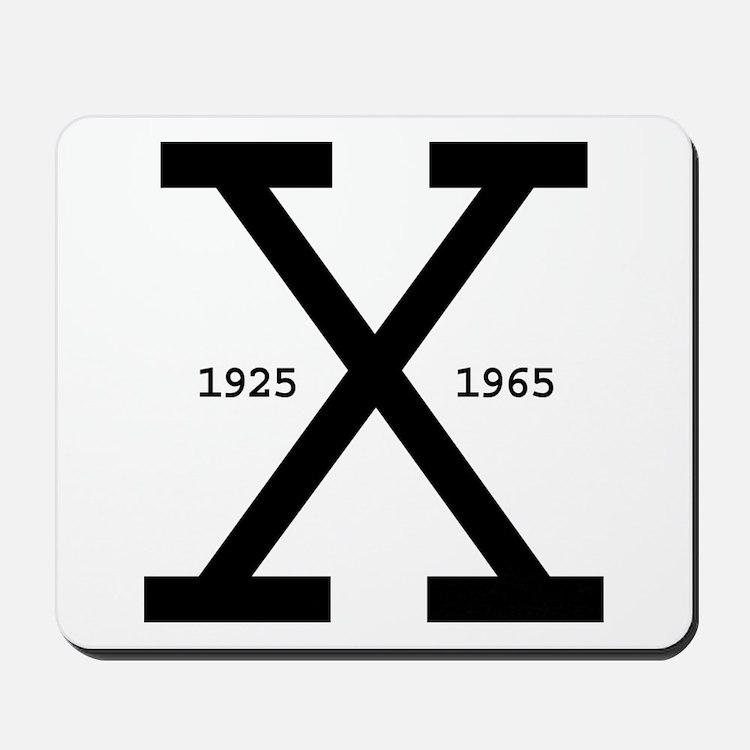 Malcolm X Day Mousepad