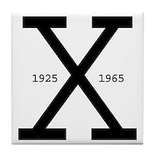 Malcolm X Day Tile Coaster