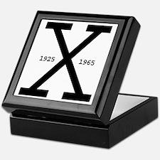 Malcolm X Day Keepsake Box