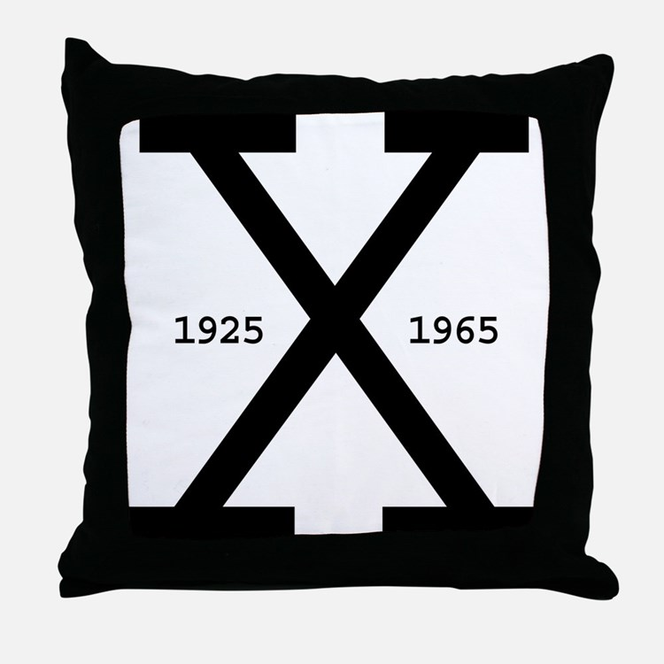 Malcolm X Day Throw Pillow