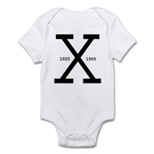 Malcolm X Day Infant Creeper
