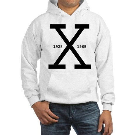 Malcolm X Day Hooded Sweatshirt