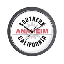 Anaheim California Wall Clock