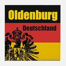 Oldenburg Deutschland  Tile Coaster