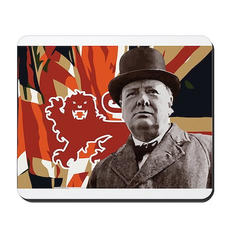 Winston Churchill Mousepad