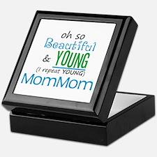 Beautiful and Young MomMom Keepsake Box