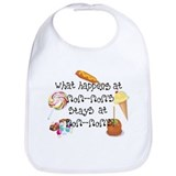 Funny mom Cotton Bibs