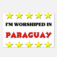 I'm Worshiped In Paraguay Postcards (Package of 8)