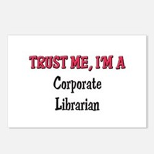 Trust Me I'm a Corporate Librarian Postcards (Pack