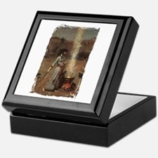 The Magic Circle by JW Waterhouse Keepsake Box