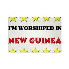 I'm Worshiped In New Guinea Rectangle Magnet