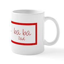 Ba Ba (Dad) Small Mug