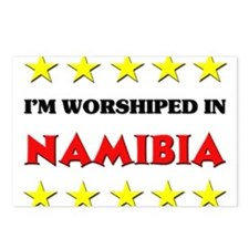 I'm Worshiped In Namibia Postcards (Package of 8)