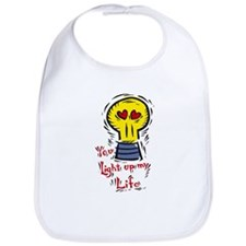 You Light Up My Life Bib