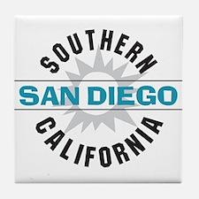 San Diego California Tile Coaster