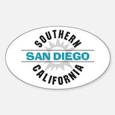 San Diego California Decal