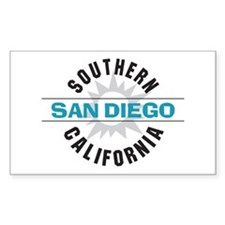 San Diego California Decal