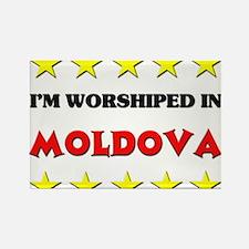 I'm Worshiped In Moldova Rectangle Magnet