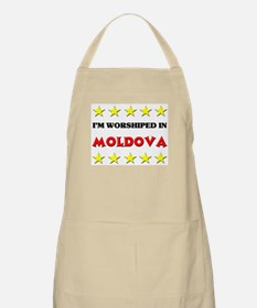 I'm Worshiped In Moldova BBQ Apron