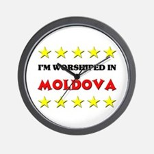 I'm Worshiped In Moldova Wall Clock