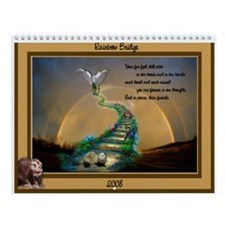 "CMF 2008 ""Rainbow Bridge"" Wall Calendar"