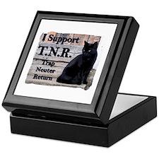 I Support TNR Keepsake Box