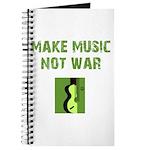 Make Music Not War Journal