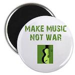 Make Music Not War Magnet