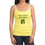 Make Music Not War Jr. Spaghetti Tank