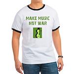 Make Music Not War Ringer T