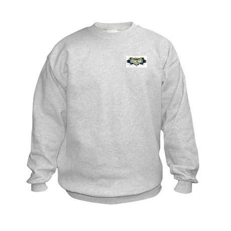 Ozone Park (White) Kids Sweatshirt