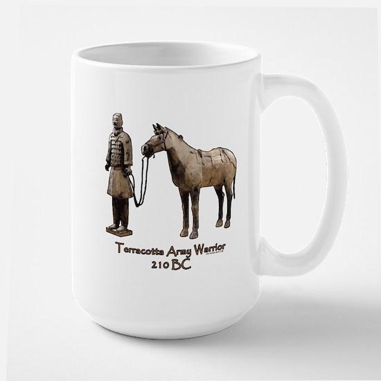 Terracotta Army Warrior Horse Large Mug